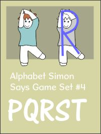 Alphabet Simon Says Capitals Book 4