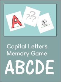 Memory Game Set 1 ABCDE