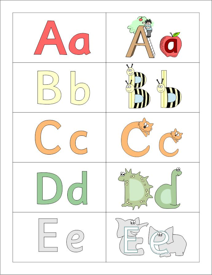 capitals book 1 letter cards size small with pictures