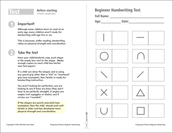 Handwriting Worksheets For Beginners Worksheets for all | Download ...